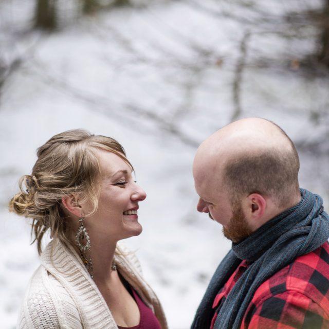 Adam & Nancy's Maternity Photography Tree Farm Thunder Bay by Dan Garrity Media