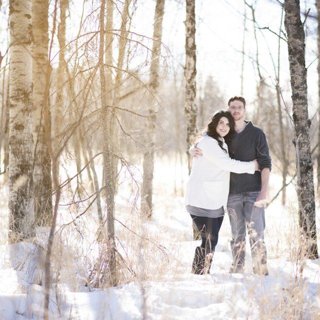 Linzi & Rob Engagement Photography [Dan Garrity Media Thunder Bay Photographer]